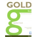 Gold First Teacher's Book with Test Master CD- ROM Pack