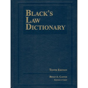 Black's Law Dictionary Tenth Edition