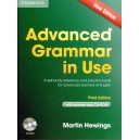 Advanced grammar in use + CD
